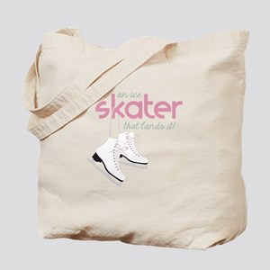 Skater Lands It Tote Bag